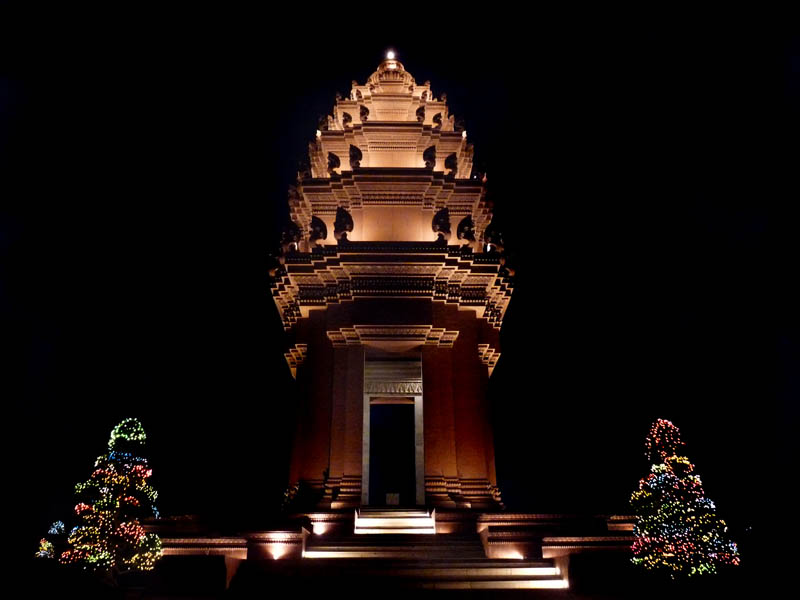 cambodia independence monument phnom penh This Day In History   November 9th