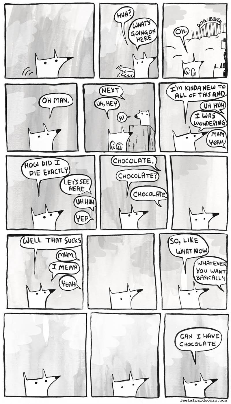 chocolate doggie heaven comic strip Doggy Heaven [Comic Strip]