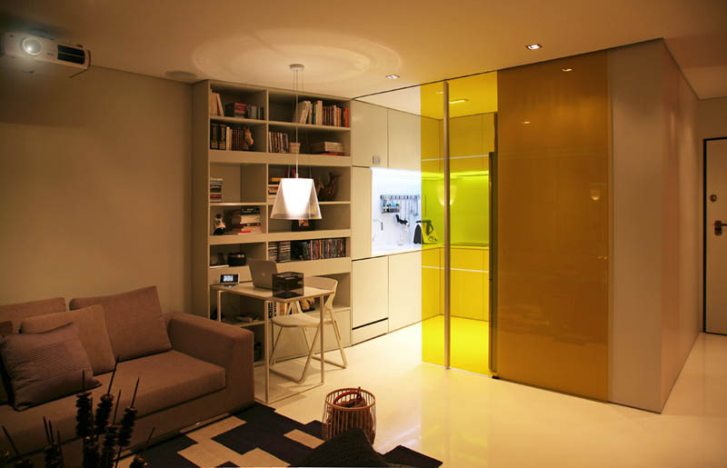 Closet House By Consexto Modular Apartment 2 The Biggest Little Apartment  In The World