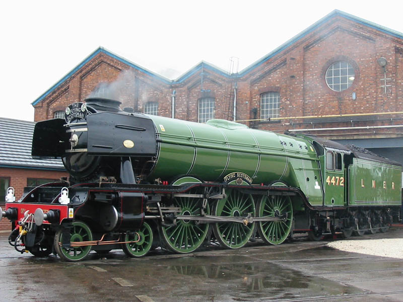 flying scotsman steam locomotive first train to 100mph This Day In History   November 30th