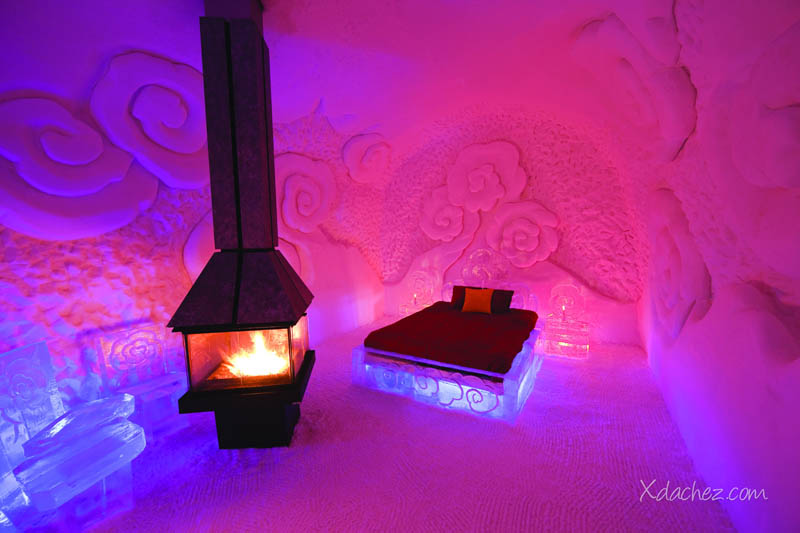 Hotel de Glace: North America's Only Ice Hotel