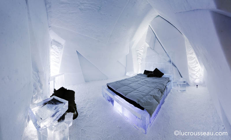 hotel de glace americas only ice hotel quebec city canada 15 Hotel de Glace: North Americas Only Ice Hotel
