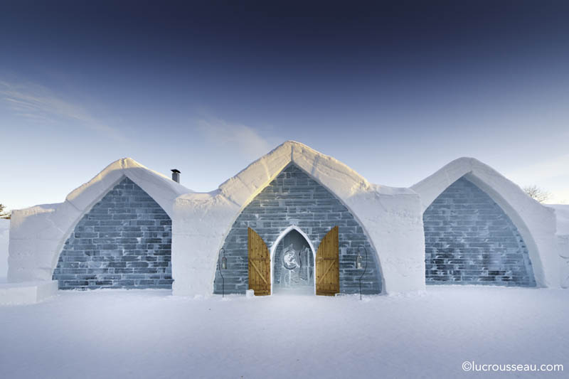 hotel de glace americas only ice hotel quebec city canada 16 Hotel de Glace: North Americas Only Ice Hotel