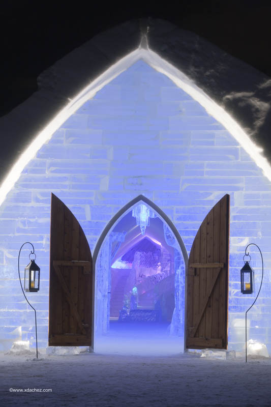 hotel de glace americas only ice hotel quebec city canada 2 Hotel de Glace: North Americas Only Ice Hotel