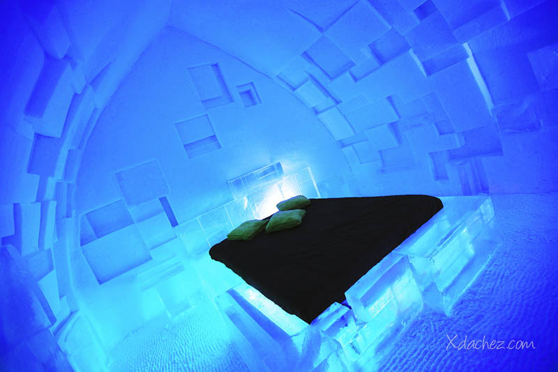 Hotel De Glace North America S Only Ice Hotel Twistedsifter