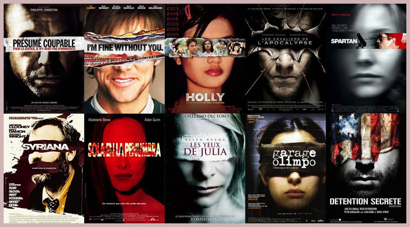 justice is blind eyes covered 10 Funny Movie Poster Cliches