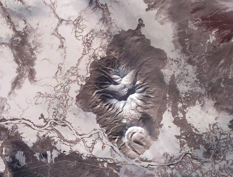 kamchatka peninsula russia from space 15 Mind Blowing Featured Images by NASA