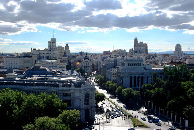 madrid skyline aerial from above Top 25 Cities in the World with the Most High Rise Buildings