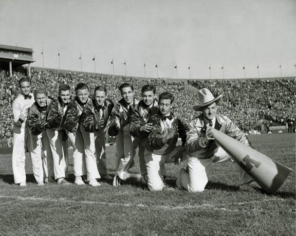minnesota rooster kings 1930s all male cheerleading team This Day In History   November 2nd