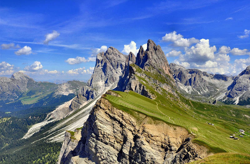 Picture of the Day: Mountain Farming in Italy
