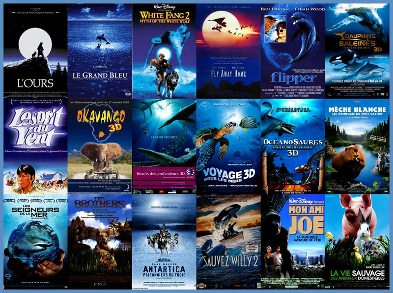 movie poster cliches themes styles back to back viewed from side 6 10 Funny Movie Poster Cliches