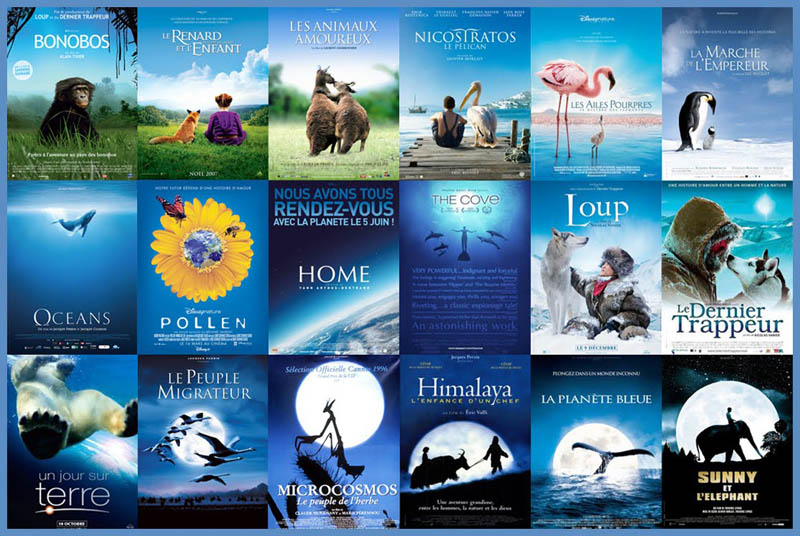 movie poster cliches themes styles back to back viewed from side 7 10 Funny Movie Poster Cliches