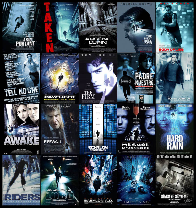 movie poster cliches themes styles back to back viewed from side 81 10 Funny Movie Poster Cliches
