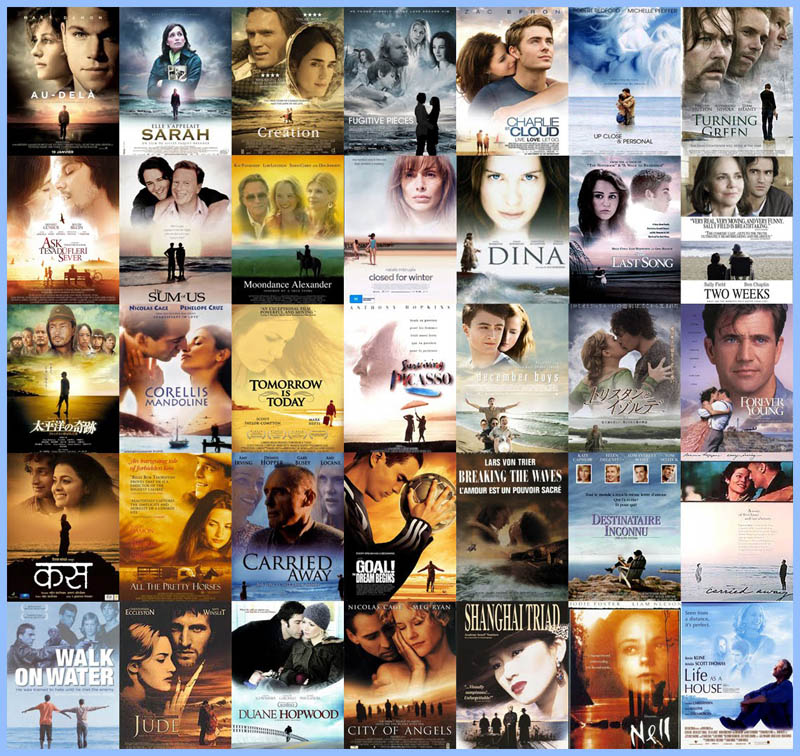 movie poster cliches themes styles back to back viewed from side 9 10 Funny Movie Poster Cliches