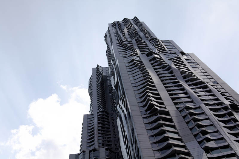 new york by gehry building manhattan new york city 3 New York by Gehry: Tallest Residential Tower in Western Hemisphere