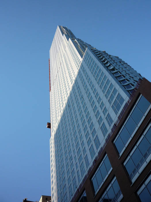 new york by gehry building manhattan new york city 5 New York by Gehry: Tallest Residential Tower in Western Hemisphere