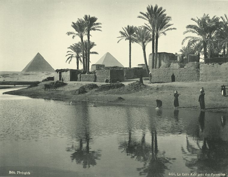 old vintage photos of egypt 1870 1875 13 Rare Photos of Egypt from the 1870s