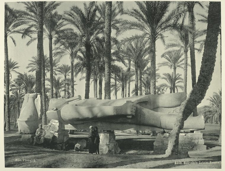 old vintage photos of egypt 1870 1875 20 Rare Photos of Egypt from the 1870s
