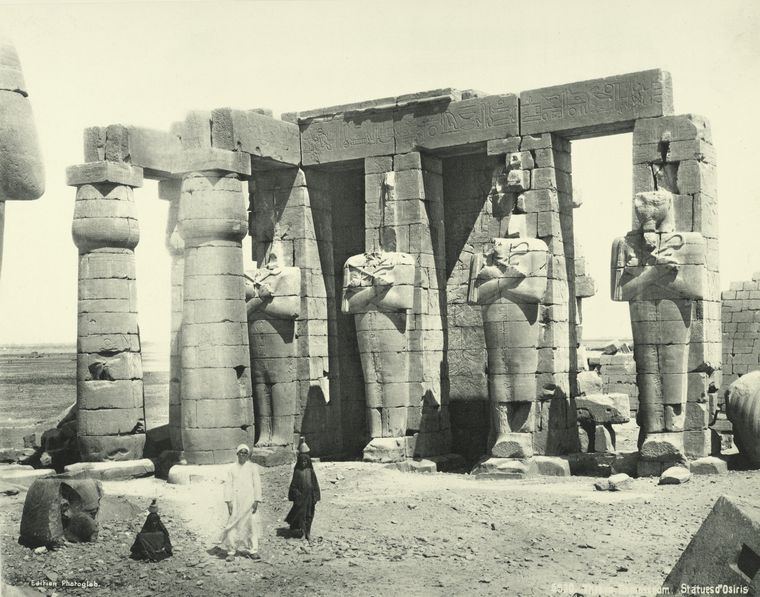 old vintage photos of egypt 1870 1875 28 Rare Photos of Egypt from the 1870s