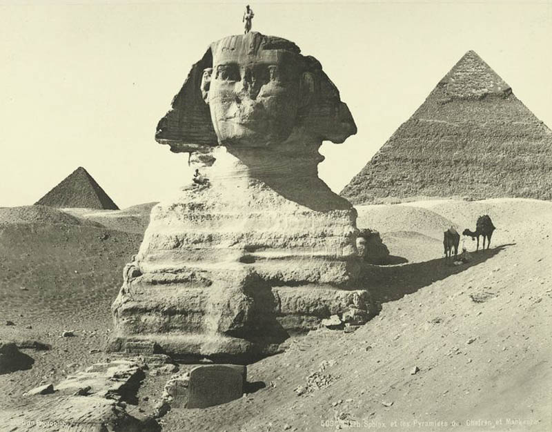 old vintage photos of egypt 1870 1875 30 Lost Egyptian City Found Underwater After 1200 Years
