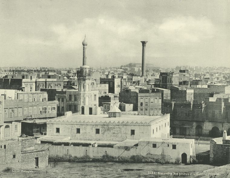 old vintage photos of egypt 1870 1875 4 Rare Photos of Egypt from the 1870s