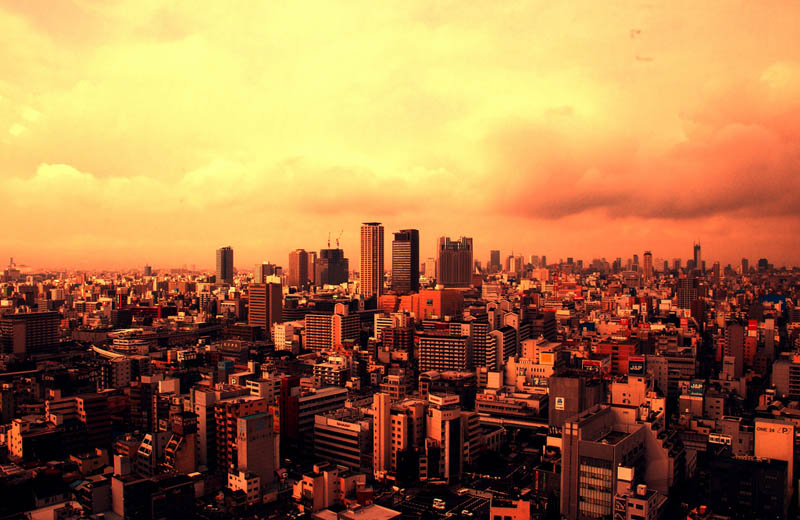 osaka skyline aerial from above Top 25 Cities in the World with the Most High Rise Buildings
