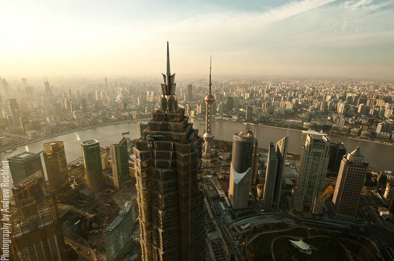 shanghai skyline aerial from above Top 25 Cities in the World with the Most High Rise Buildings