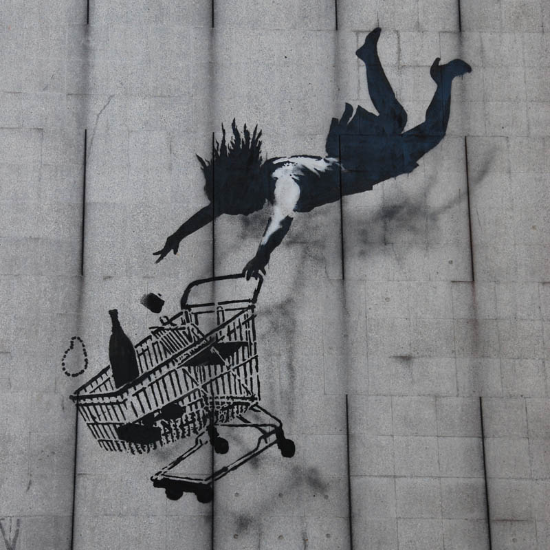 Picture of the Day: Shop Til You Drop by Banksy