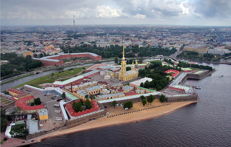 st petersburg skyline aerial from above Top 25 Cities in the World with the Most High Rise Buildings