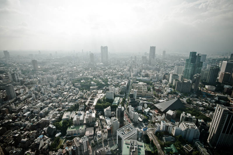 tokyo skyline aerial from above Top 25 Cities in the World with the Most High Rise Buildings