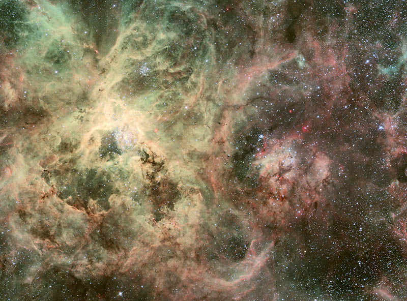 trantula nebula 15 Mind Blowing Featured Images by NASA