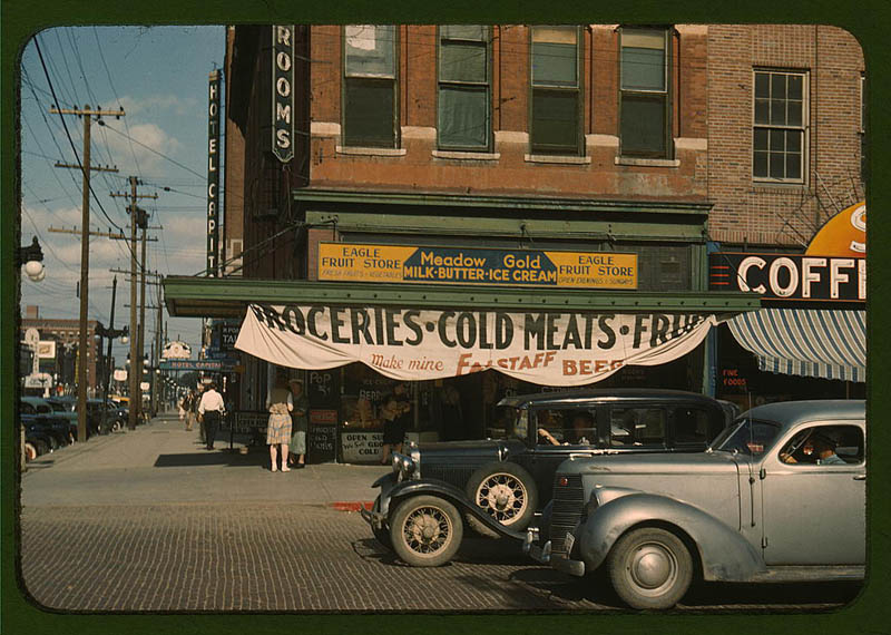 us life in the 1940s color photographs 14 Historic Color Photos of U.S. Life in the 1940s
