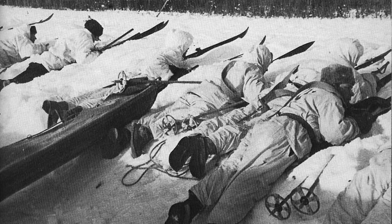 winter war skiis and guns finland soviet union 1939 This Day In History   November 30th