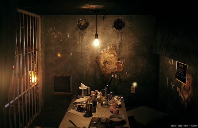 alcatraz er restaurant tokyo japan 1 3 Bizarre Theme Restaurants in Tokyo, Japan