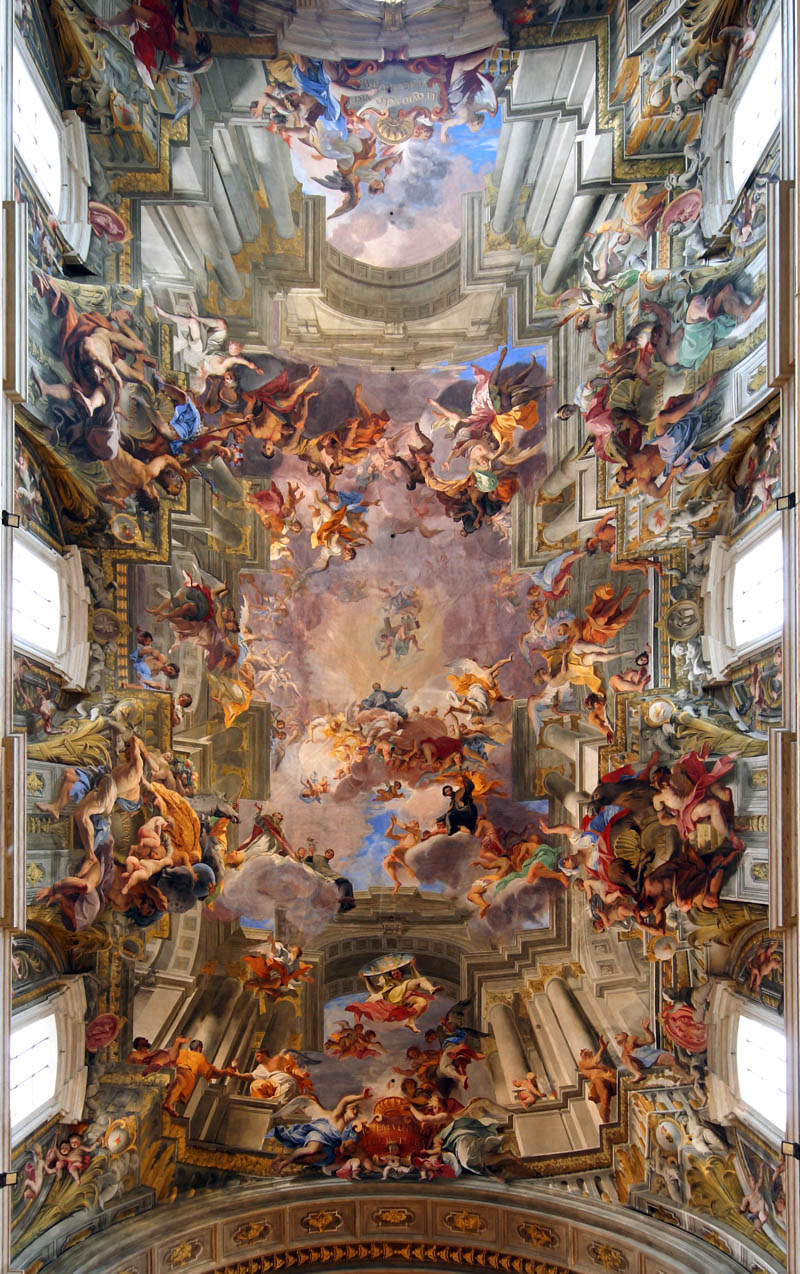 Picture of the day jaw dropping d fresco by andrea pozzo