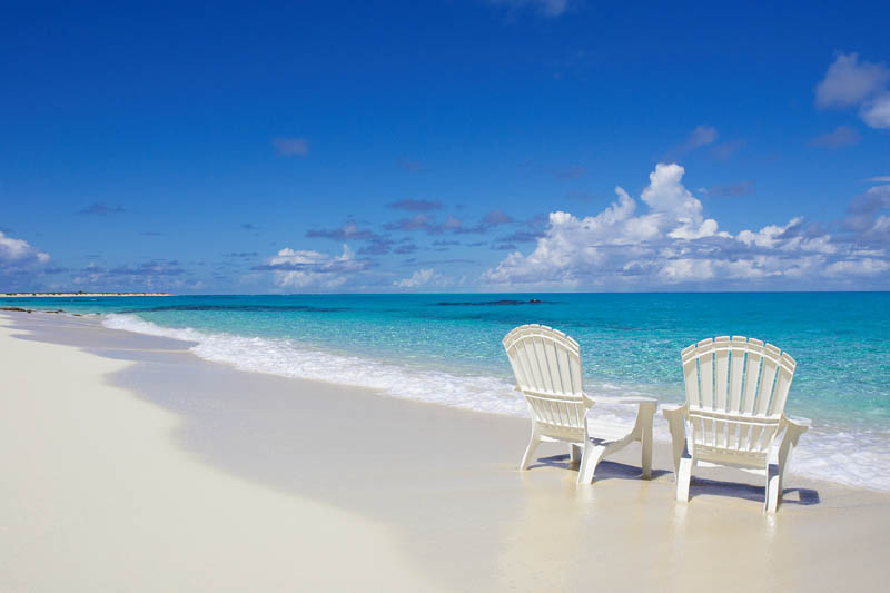 chairs on the beach turks and caicos The Beaches and Resorts of Turks and Caicos [40 photos]