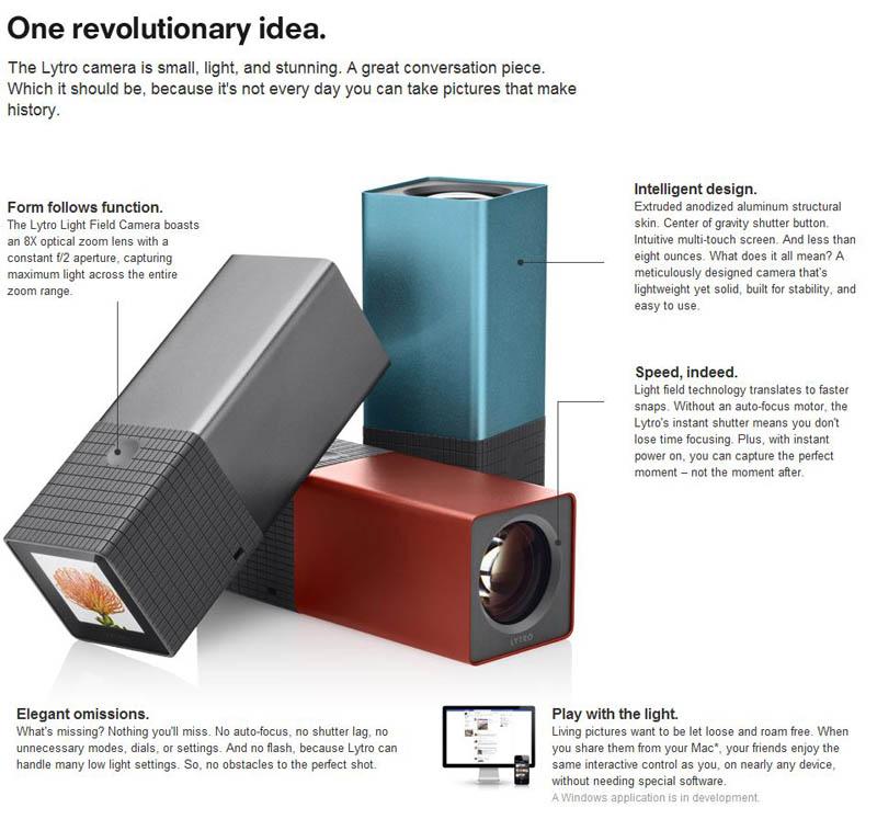 lytro light field camera features Incredible Interactive Photos Let You Focus Anywhere