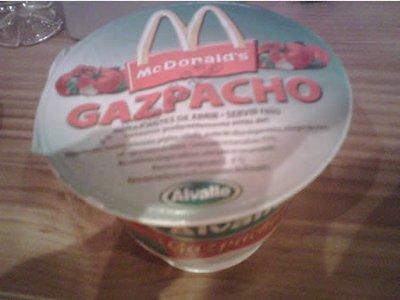 mcdonalds gazpacho soup spain 29 Exotic McDonalds Dishes Around the World