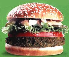 mcdonalds mcfalaffer burger israel 29 Exotic McDonalds Dishes Around the World