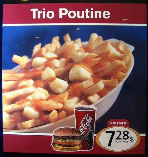mcdonalds poutine canada 29 Exotic McDonalds Dishes Around the World