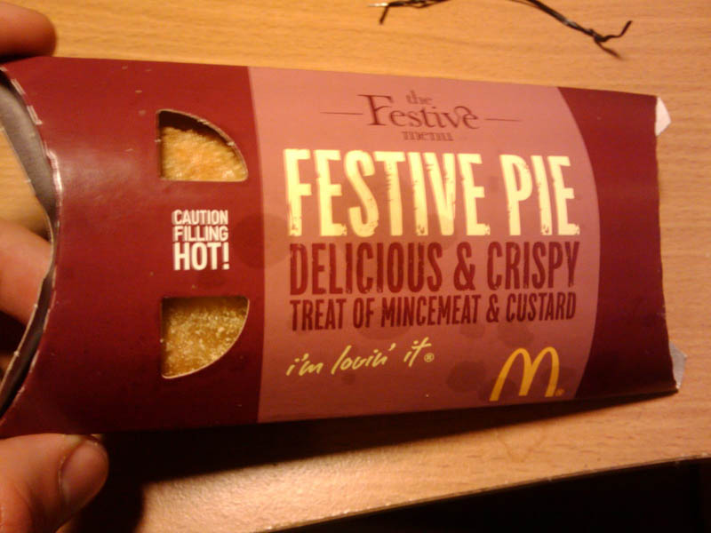 mincemeant and custard pie united kingdom mcdonalds 29 Exotic McDonalds Dishes Around the World