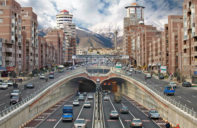 tehran iran Picture of the Day: A View from Tehran, Iran