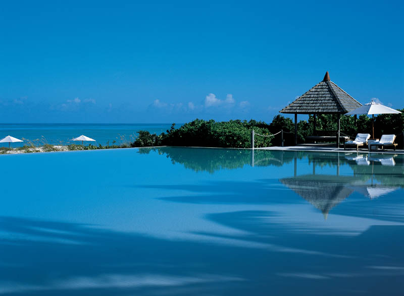 turks and caicos infinity pool spafinder The Beaches and Resorts of Turks and Caicos [40 photos]