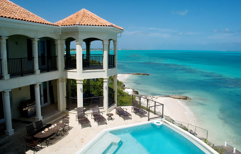turks and caicos private villa palmera The Beaches and Resorts of Turks and Caicos [40 photos]