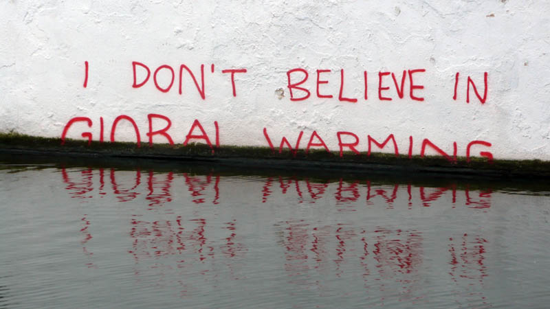 banksy i dont believe in global warming The Banksy vs Robbo War in Pictures