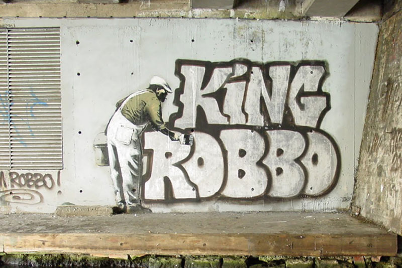 The Banksy Vs Robbo War In Pictures Twistedsifter