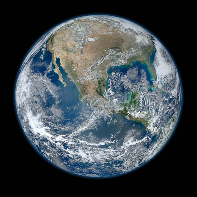biggest image of earth ever The Top 75 Pictures of the Day for 2012