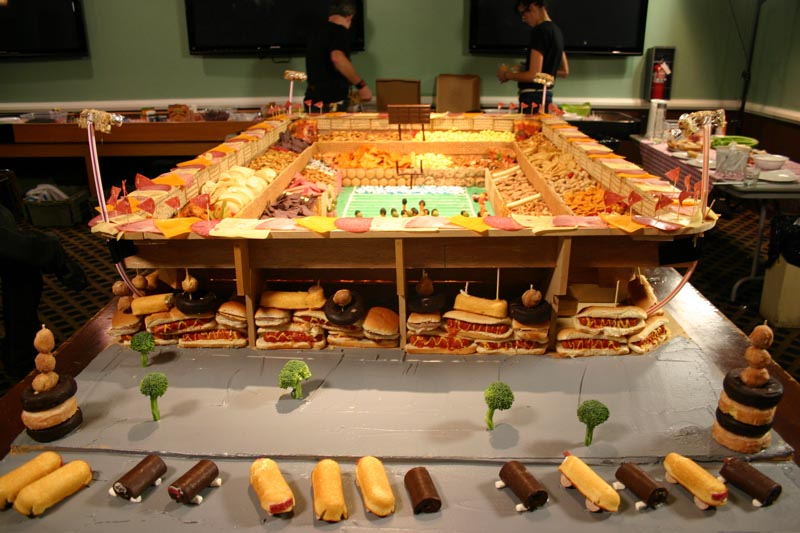 biggest snack stadium 2 The Best Super Bowl Snack Stadiums Ever