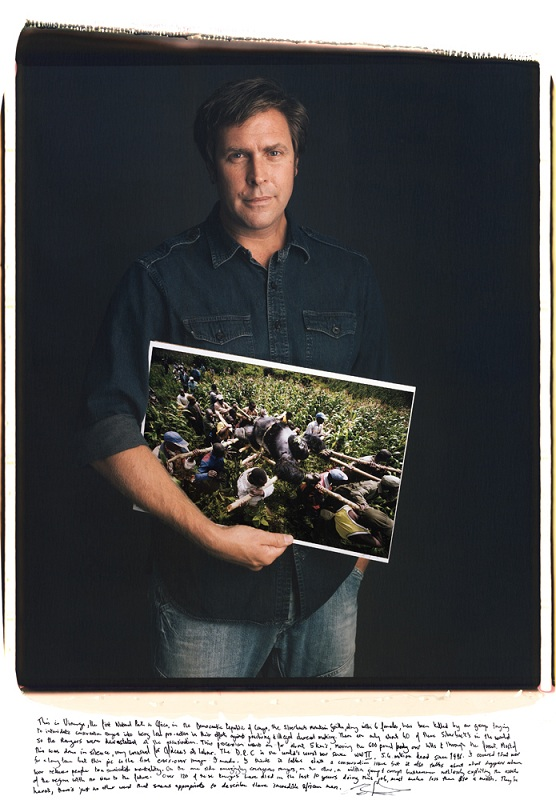 brent stirton carry silverback gorilla photo copy Portraits of Iconic Photos and the Photographers that took them