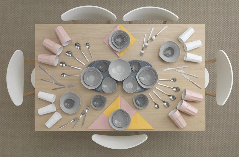 ikea kitchen table art carl kleiner 1 IKEA Kitchen Table Art by Carl Kleiner